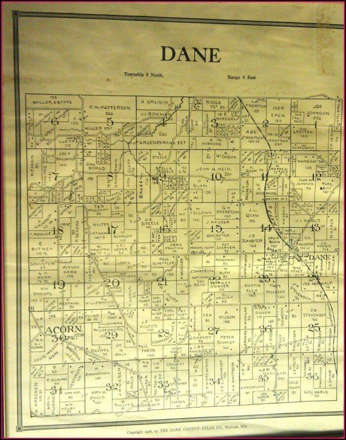 Wisconsin County Plat Maps
