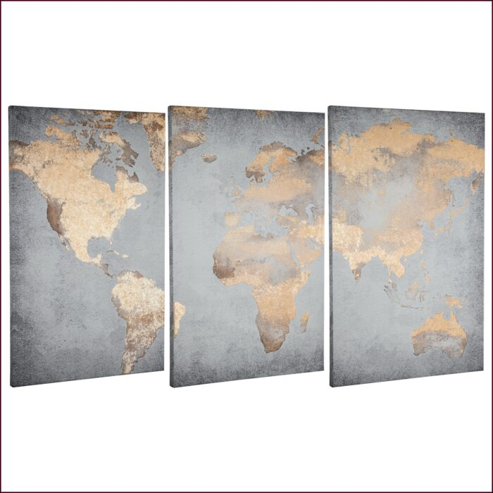 World Map Canvas Walmart