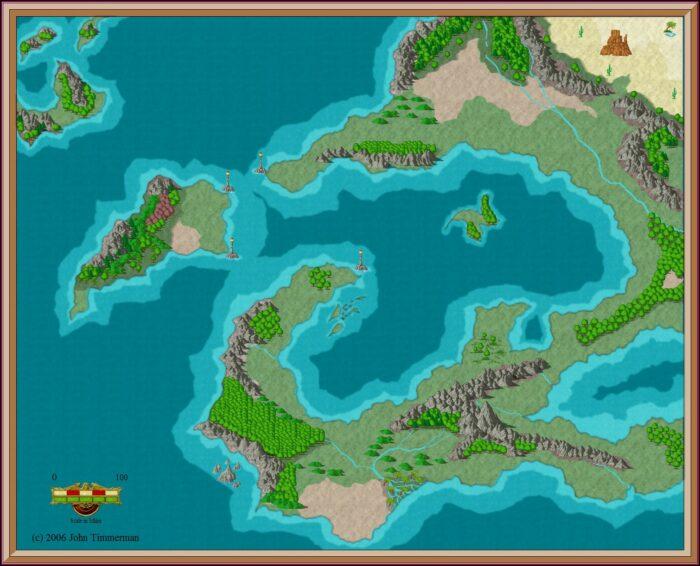 World Map Creator Dd