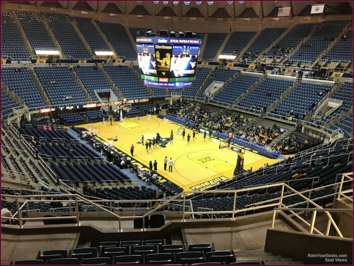 Wvu Coliseum Seating Map
