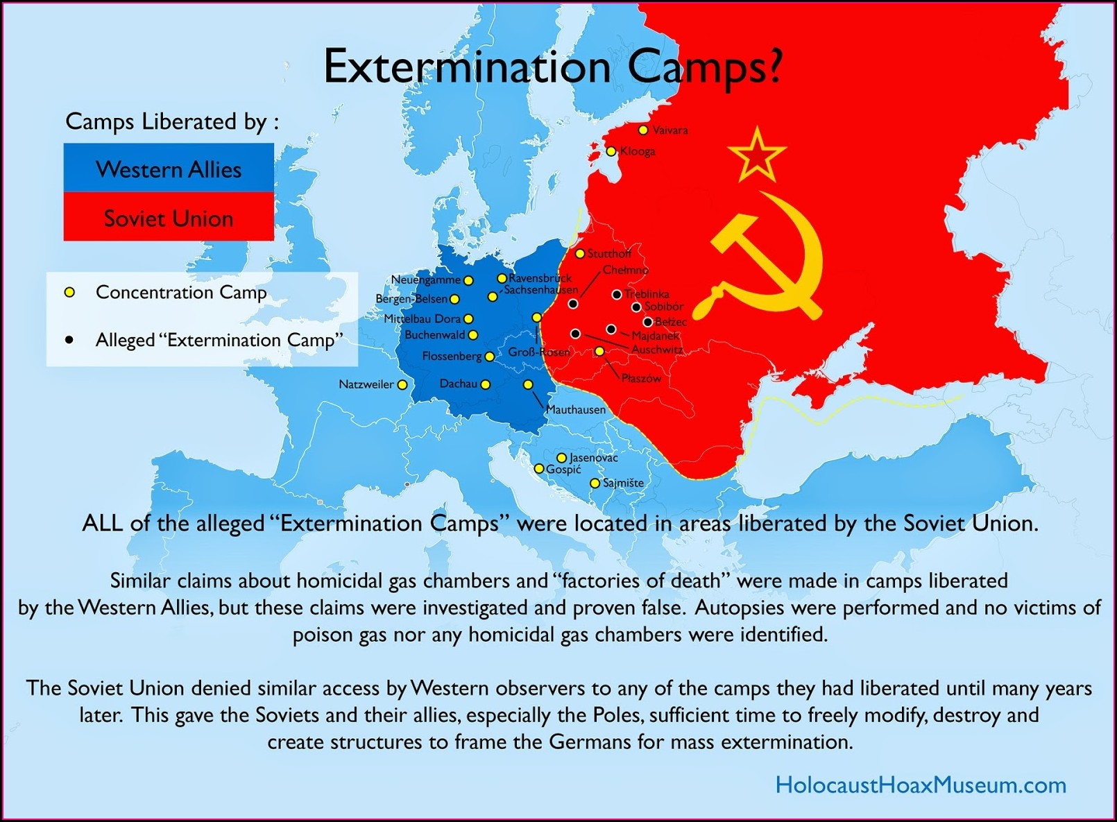 Ww2 German Concentration Camps Map