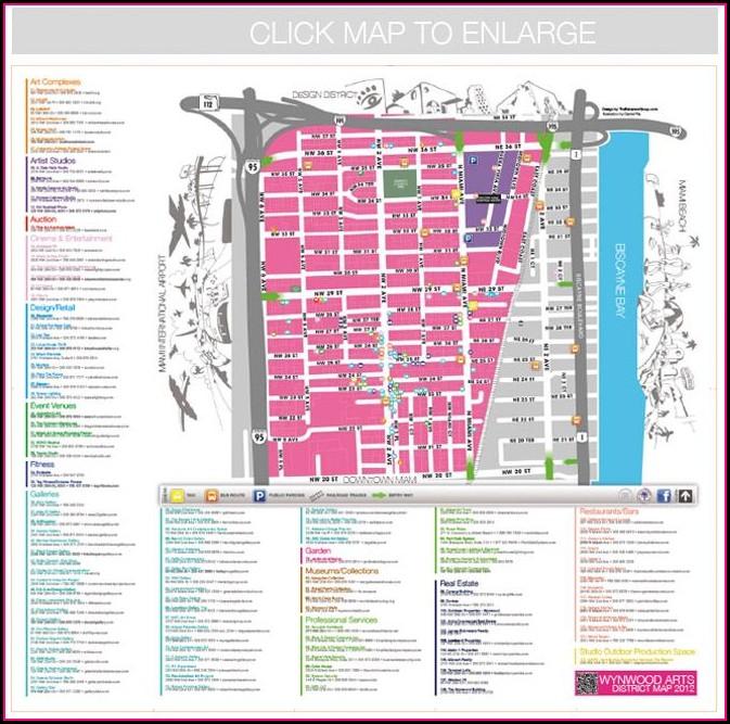 Wynwood Art Walk Map