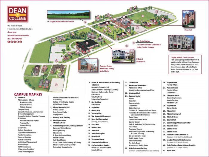 Xfinity Center Mansfield Parking Map