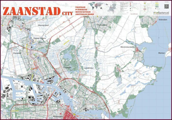 Zaanse Schans Map Pdf