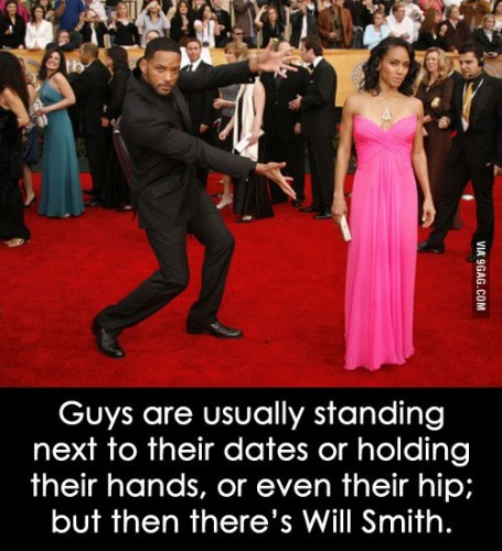 Will Smith Gesture