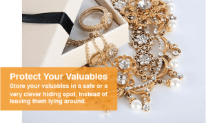 Protect your valuables