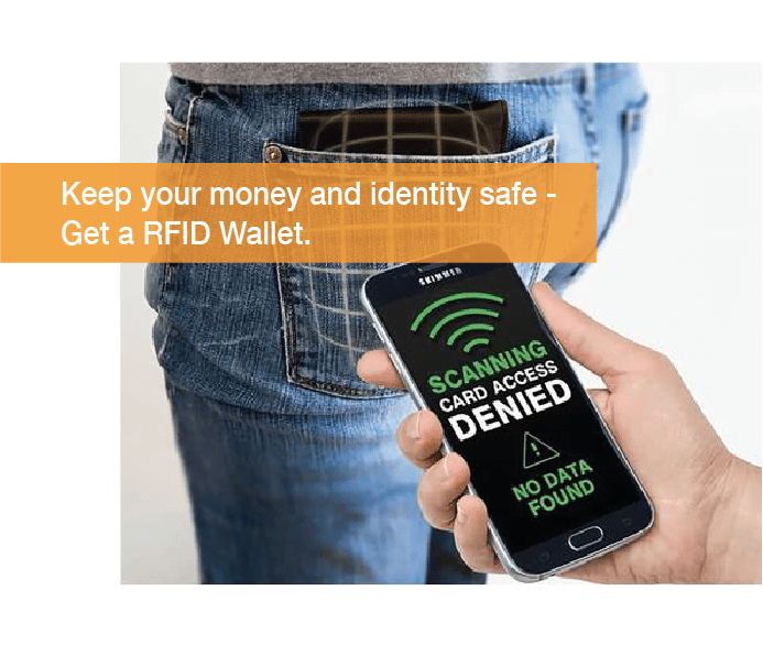 Keep your money and identity safe