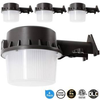 Intertek LED Yard Dusk to Dawn Light 4 pack