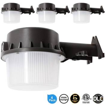 Intertek LED Yard Dusk to Dawn Light 4 pack