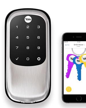 Yale Touchscreen Digital Key Free Deadbolt 0 DISPLAY
