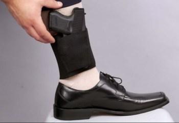 Concealed Ankle Gun Holster