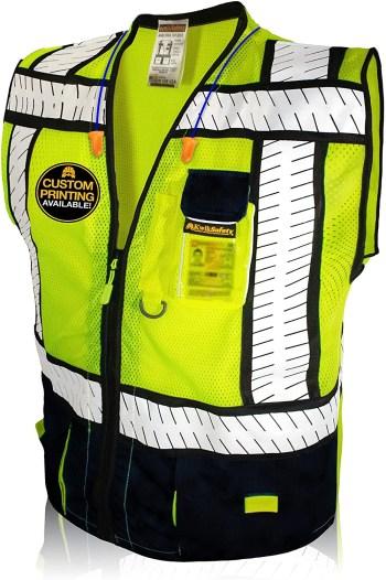 KwikSafety Class 2 ANSI High Visibility Reflective Safety Vest