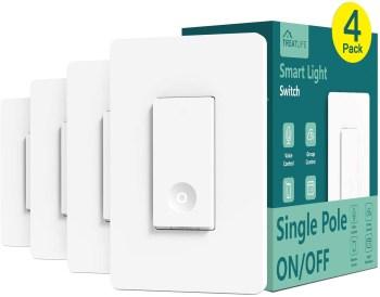 Treat Life Smart Light Switch 4 Pack