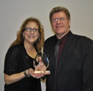 Past winners Carol and Randy Sauve
