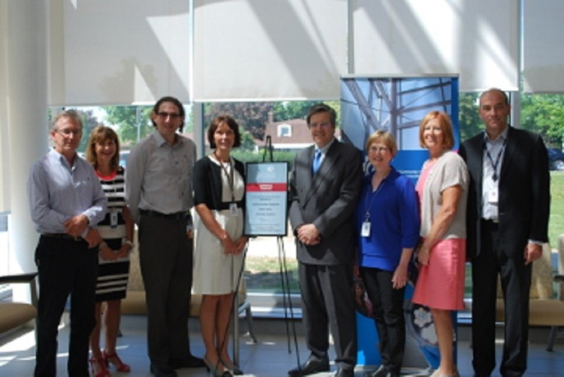OUHI plaque CCH Cornwall Community Hospital