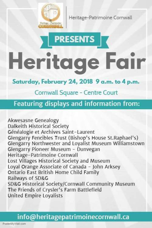 Then and now heritage fair 2018 the seeker newspaper cornwall yourself in cornwalls historic neighbourhoods there will be plenty to see and talk about as well as some bargains to be had on local history books solutioingenieria Images