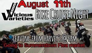 Bike Cruise Night @ Harvey's  | Cornwall | Ontario | Canada