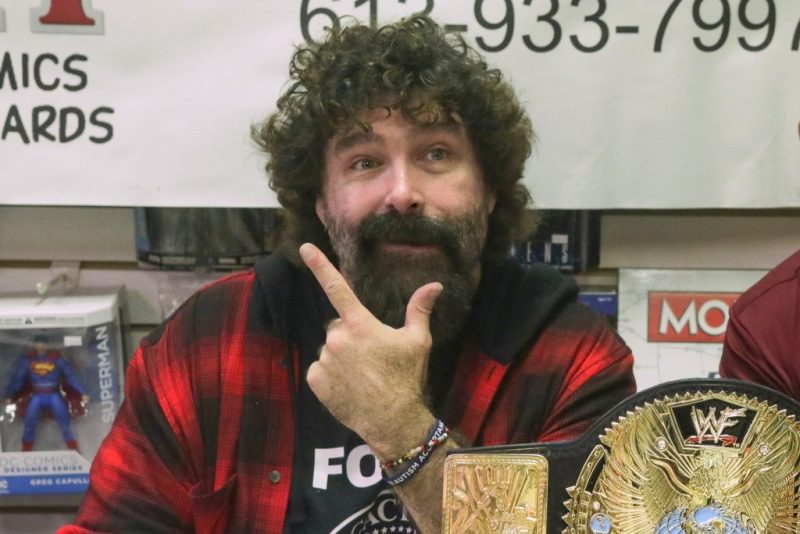 Interview with WWE Champion Mick Foley