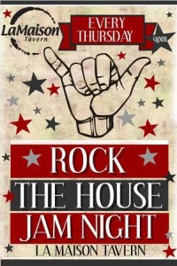 Jam Night at La Maison @ La Maison Tavern / The House