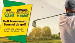 Send a Kid to Camp Golf Tournament @ Glengarry Golf & Country Club | Alexandria | Ontario | Canada