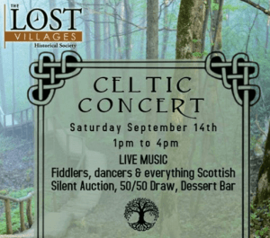 Celtic Concert @ South Stormont Community Hall | Ontario | Canada
