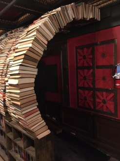 The book tunnel!