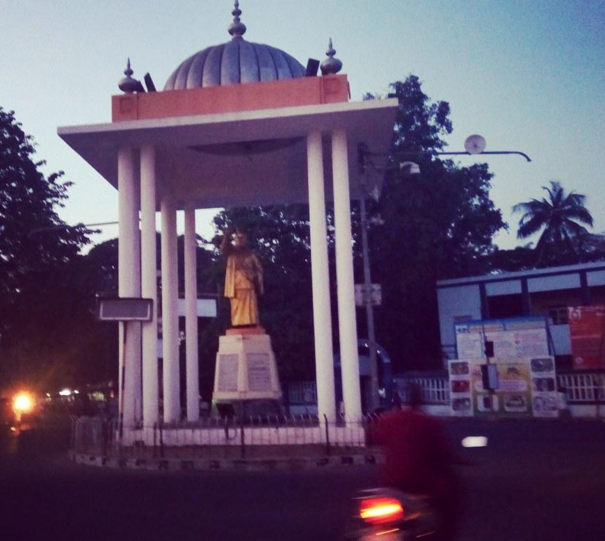 Bookstalkist-Pondicherry-Anna-Statue
