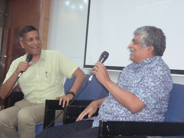 Aravind Subramanian and Nandan Nilekani