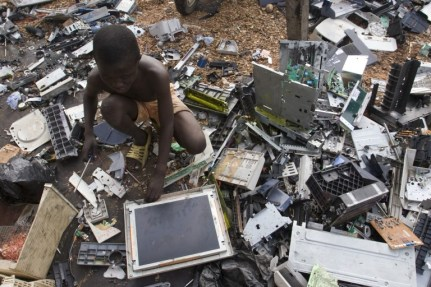 E-Waste and Child Labour | Source: Greenpeace