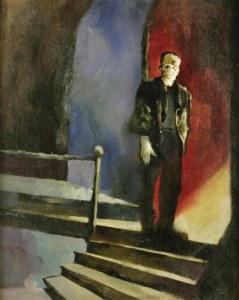 Jeff Jones, artist, Jeffrey Catherine Jones, Frankenstein