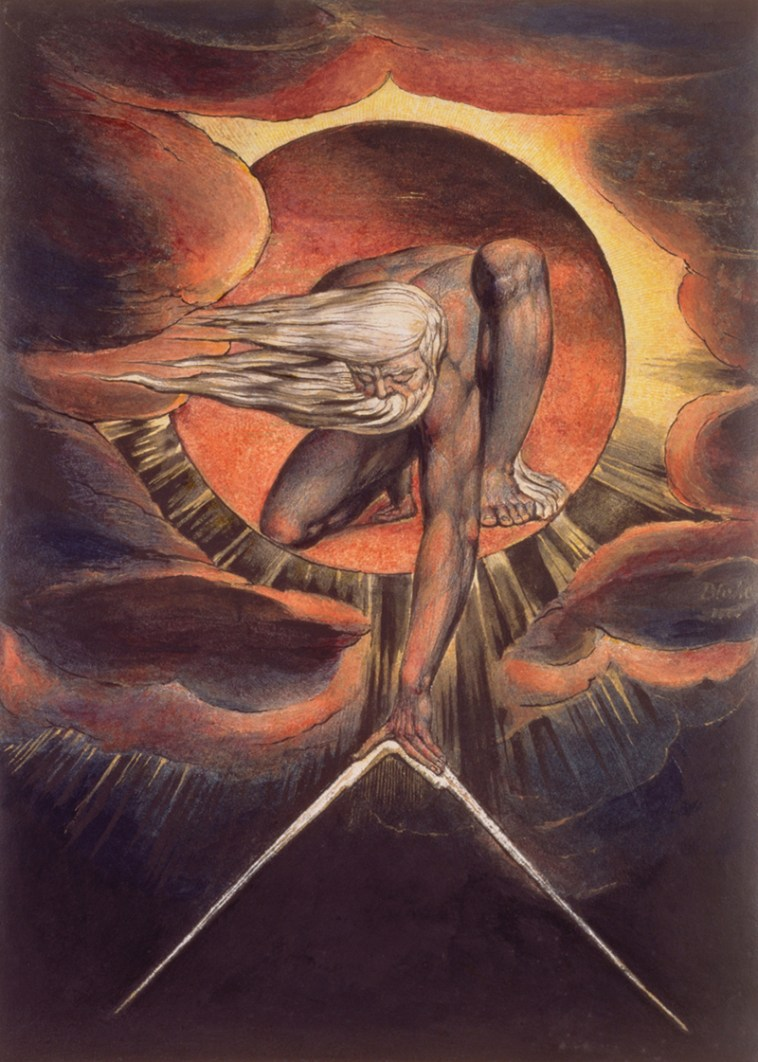 William Blake, Urizen, these fantastic worlds, Jake Jackson