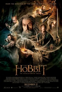 Hobbit the desolation of smug, movie poster, these fantastic worlds
