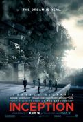 Inception, movie poster, these fantastic worlds