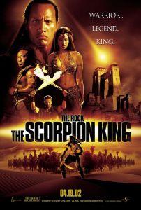 Scorpian King, The Mummy, movie poster