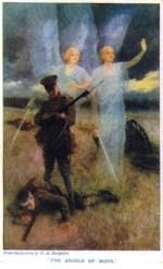 Arthur Machen, Angel of Mons card