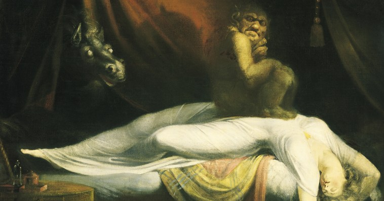 Fuseli The Nightmare, gothic