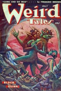 Weird Tales July 1949, dark fantasy