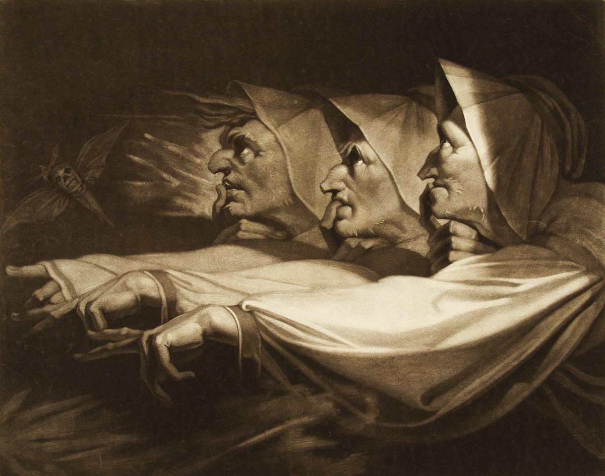 Henry Fuseli: Dark Gothic Fantasy