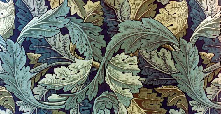 William Morris, Acanthus, These Fantastic Worlds