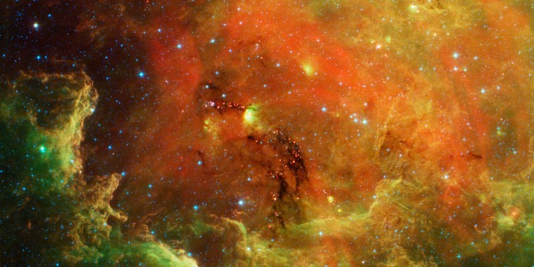 NASA, Hubble, Spitzer and the Megamaser