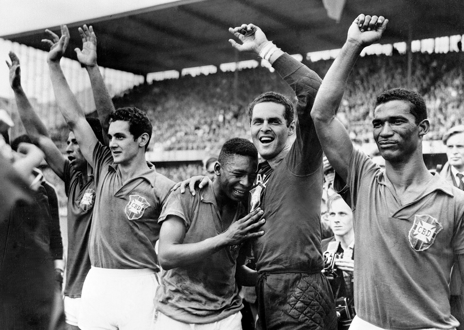 The birth of Brazil at World Cup 1958