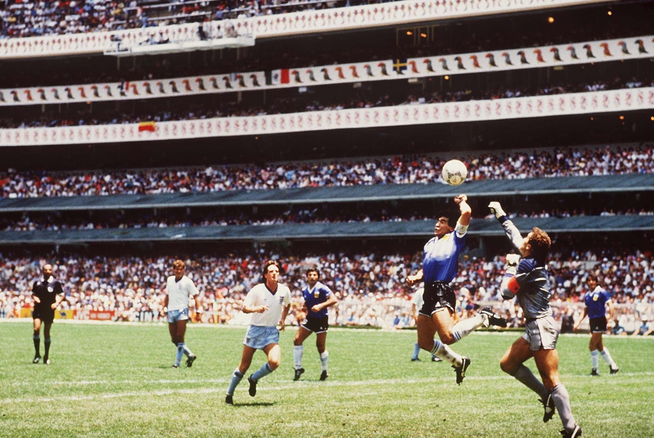 Image result for maradona hand of god