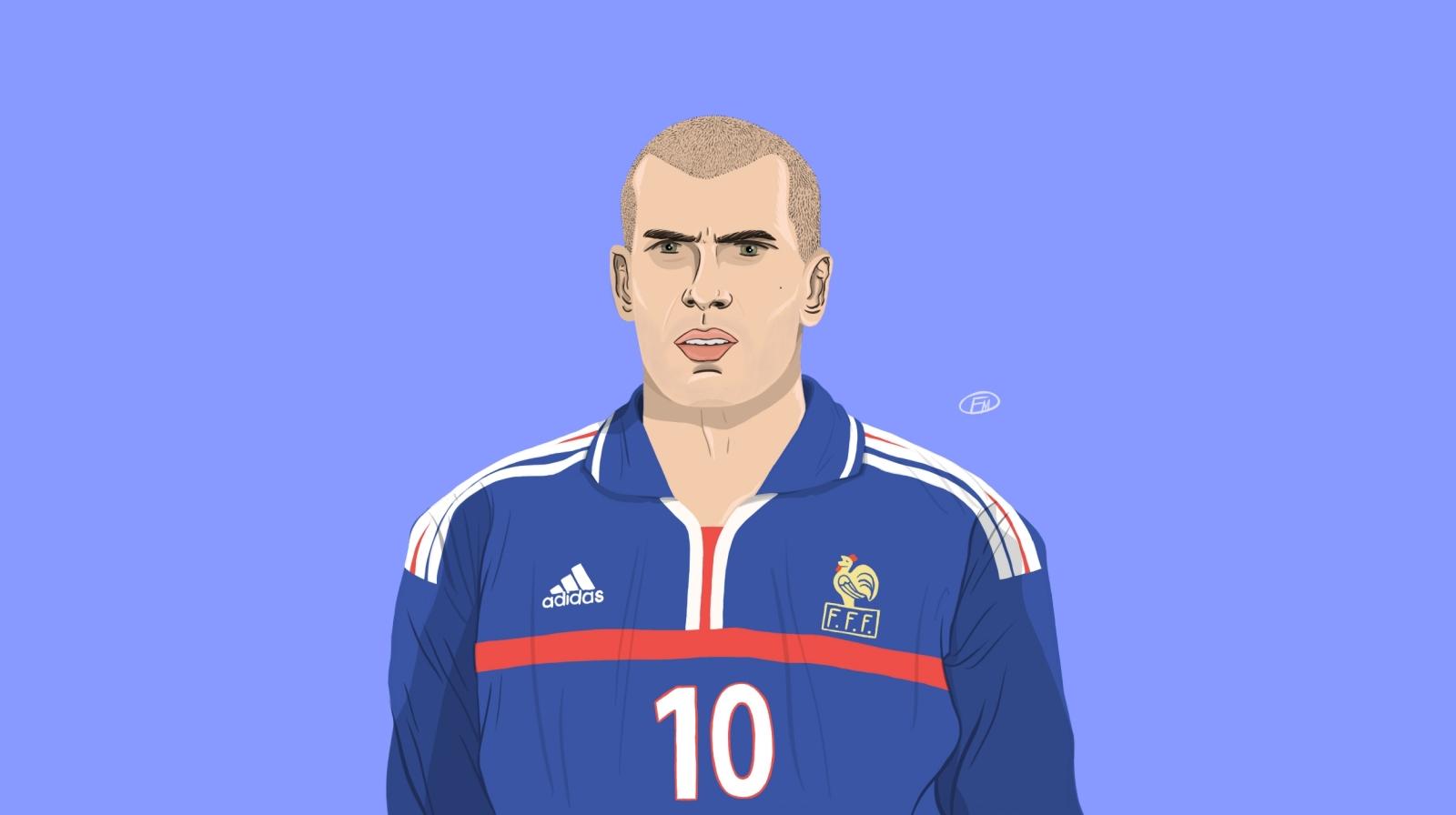Zinedine Zidane myth God and king