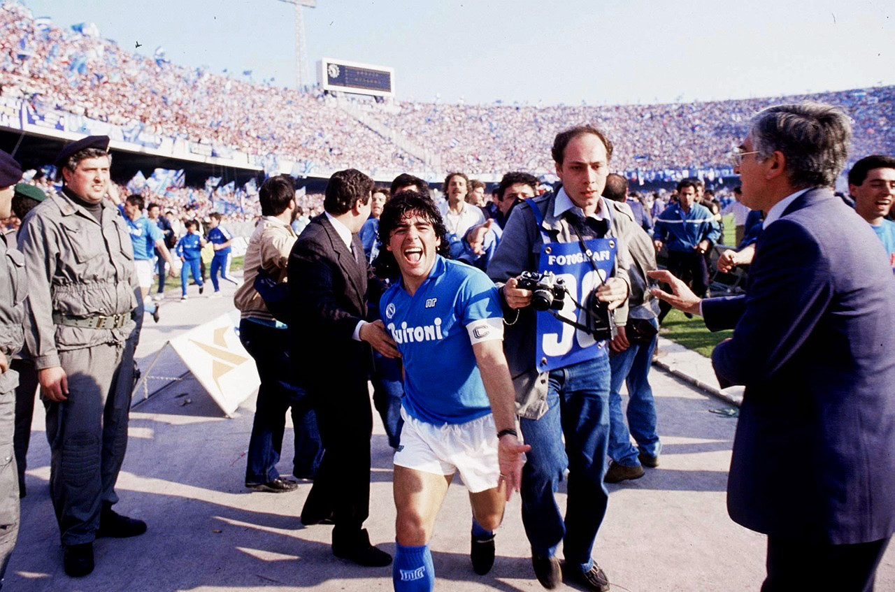 What do Napoli and Diego Maradona mean to a generation of younger fans?