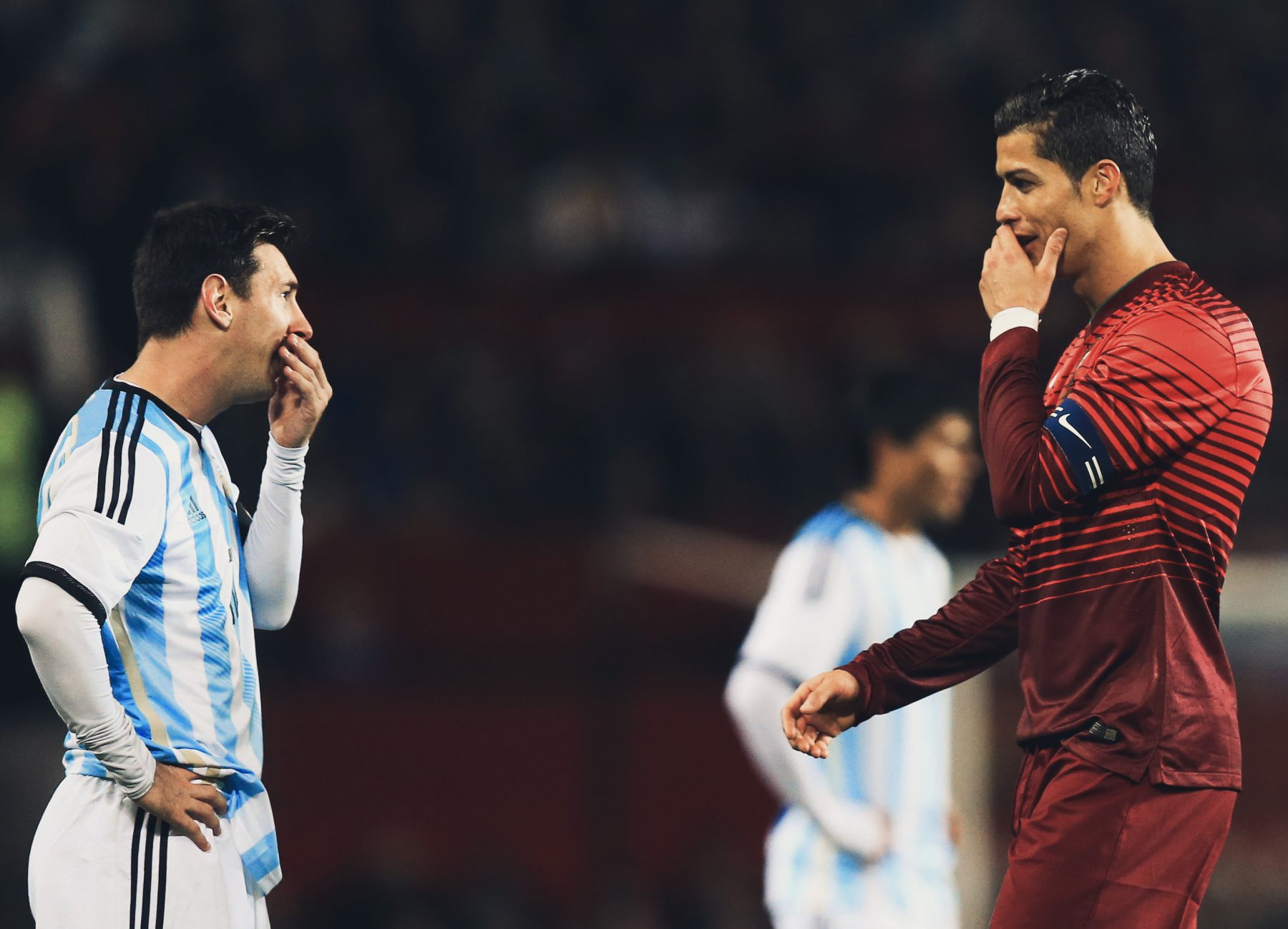 Image result for Lionel Messi and Cristiano Ronaldo