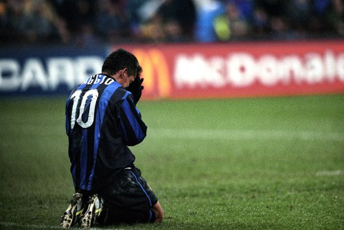 Image result for baggio injury