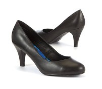 New Look leather court shoes £24.99 / Salones de cuero de New Look 29,99 €