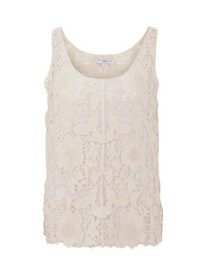 New Look crochet vest £16.99 / Camiseta de ganchillo de New Look 19,99 €