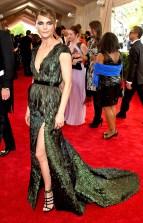 Keri Russell wears an Altuzarra dress and Giuseppe Zanotti shoes