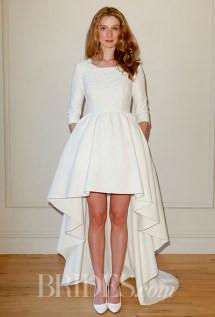 Delphine Manivet Wedding Dress - Spring 2016 Collection / Photo: brides.com